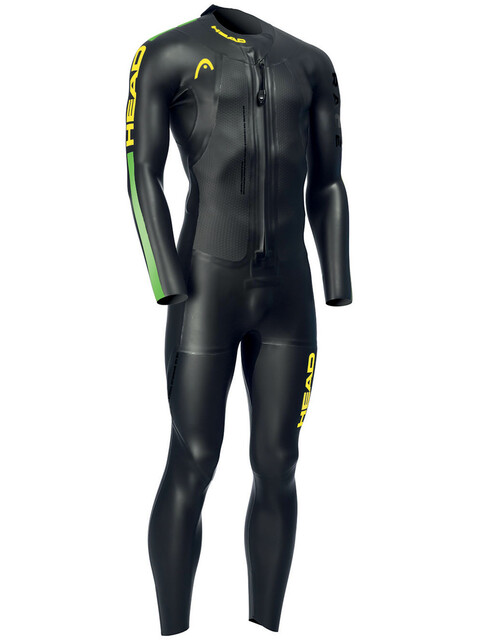 Head Swimrun Race 6.4.2.1,5 Wetsuit Men Black/Brasil